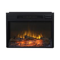 "24"" Wide Firebox Insert in Black"