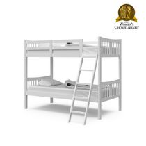 Stork Craft Caribou Bunk Bed White