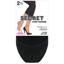 Secret Step Savers Footcovers Black