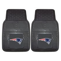 FanMats NFL New England Patriots Vinyl Car Mat - Set of 2