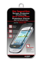 Black Edge Tempered Glass Screen Protector - Samsung S3