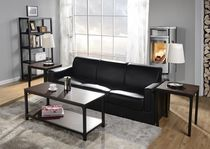 Homestar Coffee Table & Side Table Set - 3 Piece, Cherry