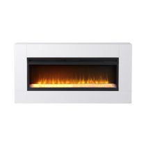 Flamelux Mantova 42 Inches Wide Freestanding Firebox White
