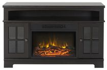 Flamelux Zarate Media Fireplace in Espresso, 44.5 inch Wide