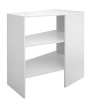 ClosetMaid SuiteSymphony White Corner Unit Storage