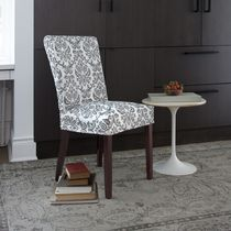 SureFit™ Chelsea Relaxed Fit Chair Slipcover Grey