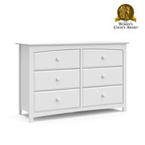 Stork Craft Kenton 6 Drawer Dresser White