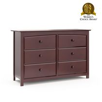 Stork Craft Kenton 6 Drawer Dresser Cherry