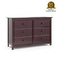 Stork Craft Kenton 6 Drawer Dresser Espresso