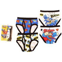DC Superfriends Boys' 4-Pack Underwear 4