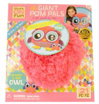 Pomtree Pom Pals 11.3 x 13.6 Inches and  2.3 x 3.3 Inches Owl Kit