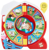 Jouet See 'n Say Animaux de la ferme Little People de Fisher-Price – Édition anglaise
