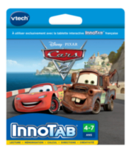 Disney Cars 2 InnoTab Software French Version