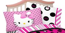 Hello Kitty Taie d'oreiller « Dots Beautiful »