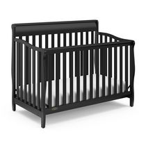 Graco Stanton 4-In-1 Convertible Crib - Black