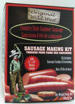 Trousse pour faire des saucisses de Wild West Seasonings