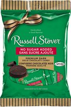 Russell Stover No Sugar Added Dark Chocolate Medallions