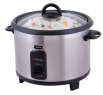 Sunbeam 20-Cup Rice Cooker, Stainless Steel - CKSBRC200-033
