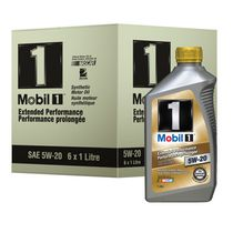 Mobil 1 Extended Performance Synthetic Motor Oil, 5W-20