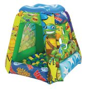 Teenage Mutant Ninja Turtle Half Shell Heroes Playland with 20 Balls