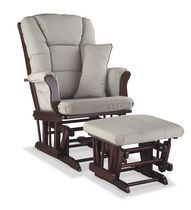 Storkcraft Premium Glider and Ottoman