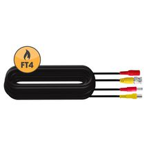 DEFENDER® 65ft In-Wall, Fire-Rated UL/FT4 Certified Extension Cable