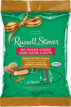 Russell Stover No Sugar Added Milk Chocolate Covered Peanut Butter Crunch