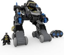 Imaginext DC Super Friends de Fisher-Price – Bat Bot transformable téléguidé