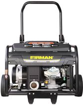 Firman 9000 Watt 15 HP Electric Start Gas Powered Portable Generator with Wheel Kit