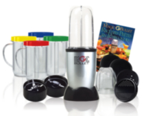 Magic Bullet Blender, 17-Piece Set - MBR-1702