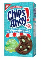 Chips Ahoy! ICE Cream Creations Mint Chocolate Chip  Cookies