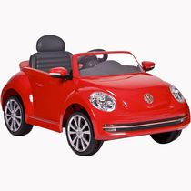 VW COCCINELLE 6 VOLTS ROUGE