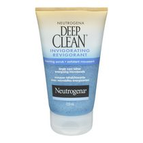 NEUTROGENA® DEEP CLEAN® Exfoliant moussant revigorant, 125 ml