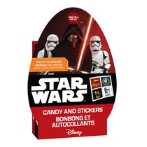 Star Wars Egg Box with Candy & Stickers