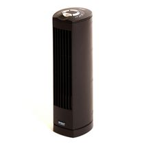 "Seville Classics 17"" Black Mini Tower Fan"