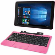 Tablette Windows RCA de 10 po avec clavier Couleur rose