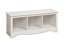 Cubbie Bench White
