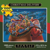 Christmas Delivery - 1000 Piece