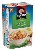 Quaker Apple & Cinnamon Instant Oatmeal