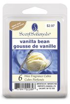 scentsationals wax cube, vanilla bean