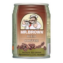 Mr. Brown Canned Iced Coffee