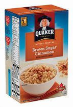 Quaker Brown Sugar Cinnamon Instant Oatmeal