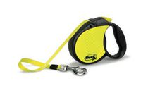 Flexi Neon Reflect Retractable Dog Leash Large