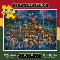 Santa's Workshop - 1000 Piece