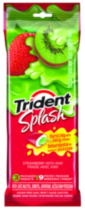 Trident Splash Strawberry with Kiwi Gum