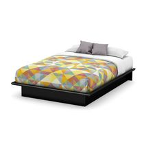 South Shore Soho Collection Queen Platform Bed Black