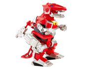 Figurines Armure de combat Power Rangers Imaginext de Fisher-Price - Ranger rouge et Zord T-Rex