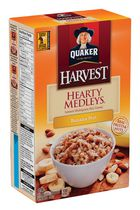 Quaker Harvest Hearty Medleys Banana Nut Instant Multigrain Hot Cereal