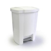 Mistral® 30L Step Can - White