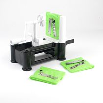Paderno Green/Black Veggie/Fruit Spiralizer Green/Black